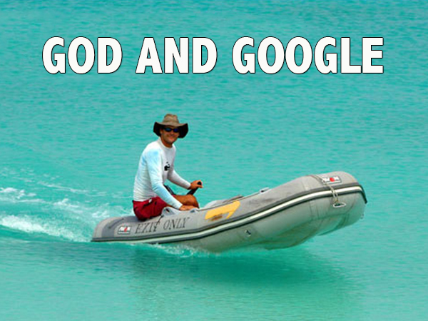 God and Google know everything about you, but God is the only one who really cares - David J. Abbott M.D.