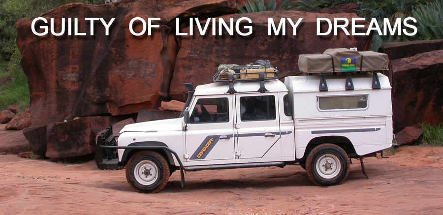 Overland Uni - Driving overland around the world in Land Rover Defenders - Positive Thinking Doctor - David J. Abbott M.D.