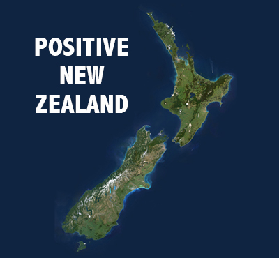 Positive New Zealand - Positive Thinking Network - Positive Thinking Doctor - David J. Abbott M.D.