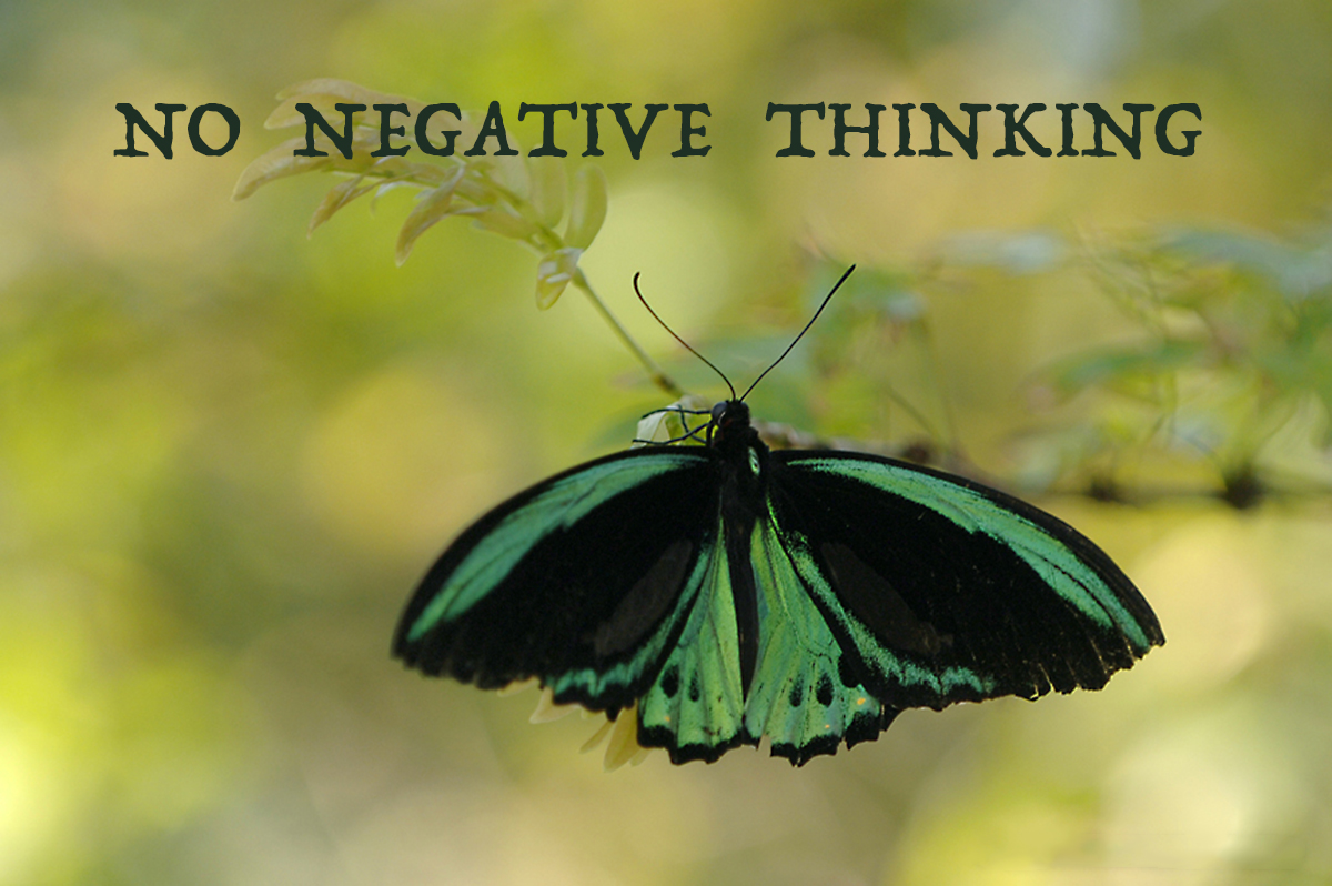 Zero Tolerance To Negative Thinking - David J. Abbott M.D. - Positive Thinking Doctor