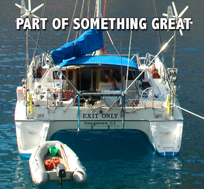 Be Part Of Something Great - David J. Abbott M.D. - Positive Thinking Sailor