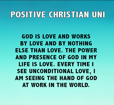 Positive Christian Uni - Positive Christian University - Positive Thinking Network - Positive Thinking Doctor - David J. Abbott M.D.