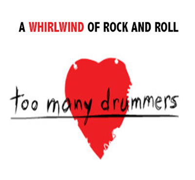 Too Many Drummers - indie band - a whilwind of rock and roll