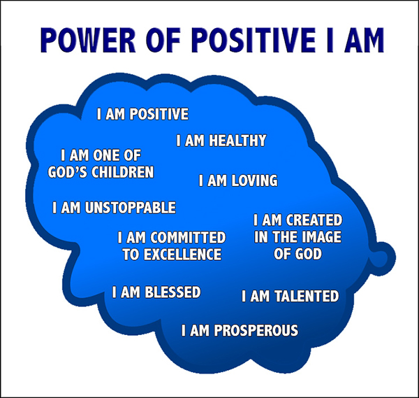 Power of Positive I Am - David J. Abbott M.D.