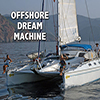 Sailing offshore catamaran - Positive Thinking Network - Positive Thinking Doctor - David J. Abbott M.D.