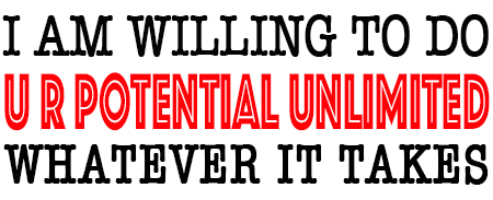 U R POTENTIAL UNLIMITED - POSITIVE THINKING DOCTOR - DAVID J. ABBOTT M.D.